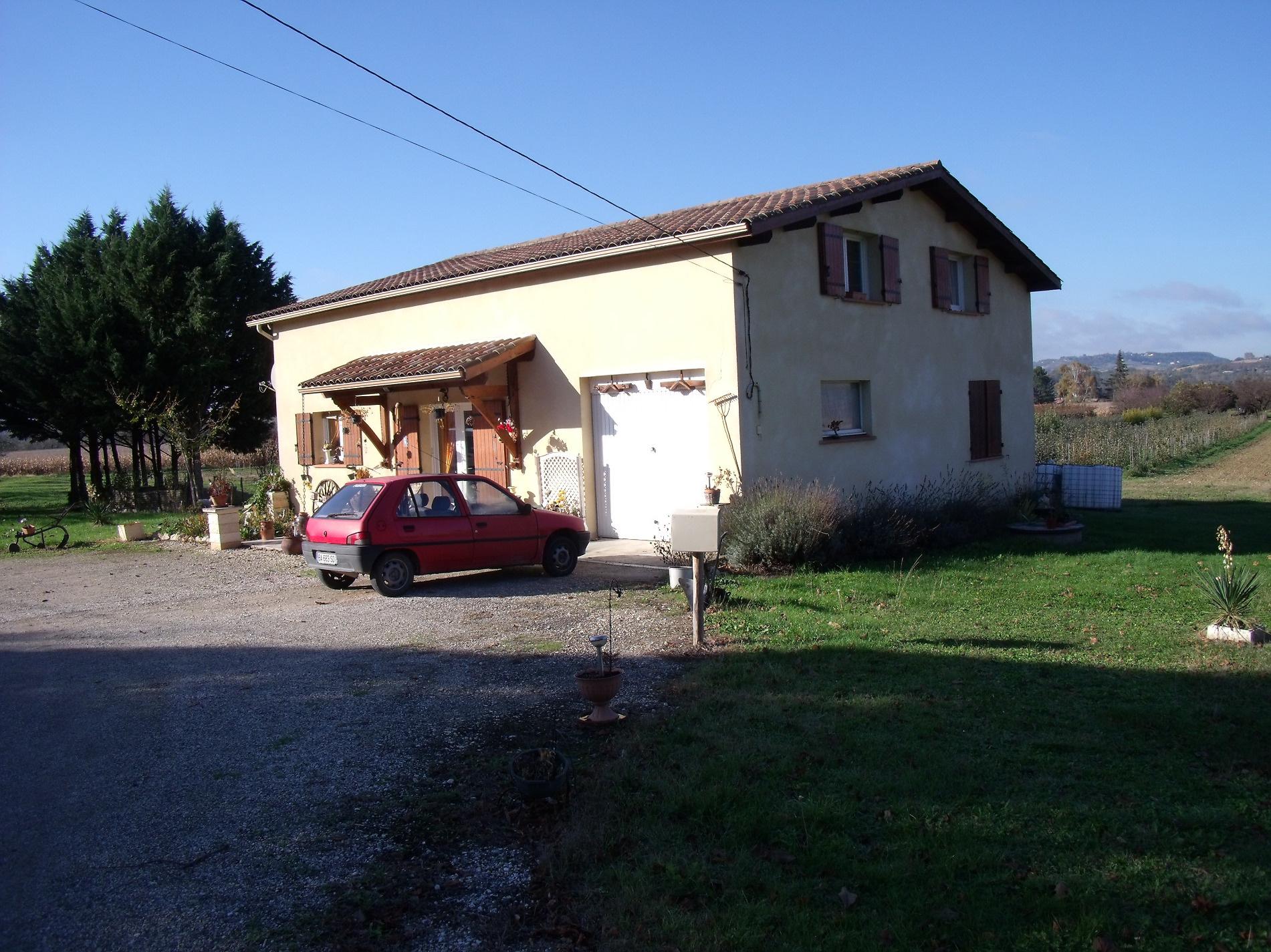 Vente maison/villa 5 pièces bourlens 47370