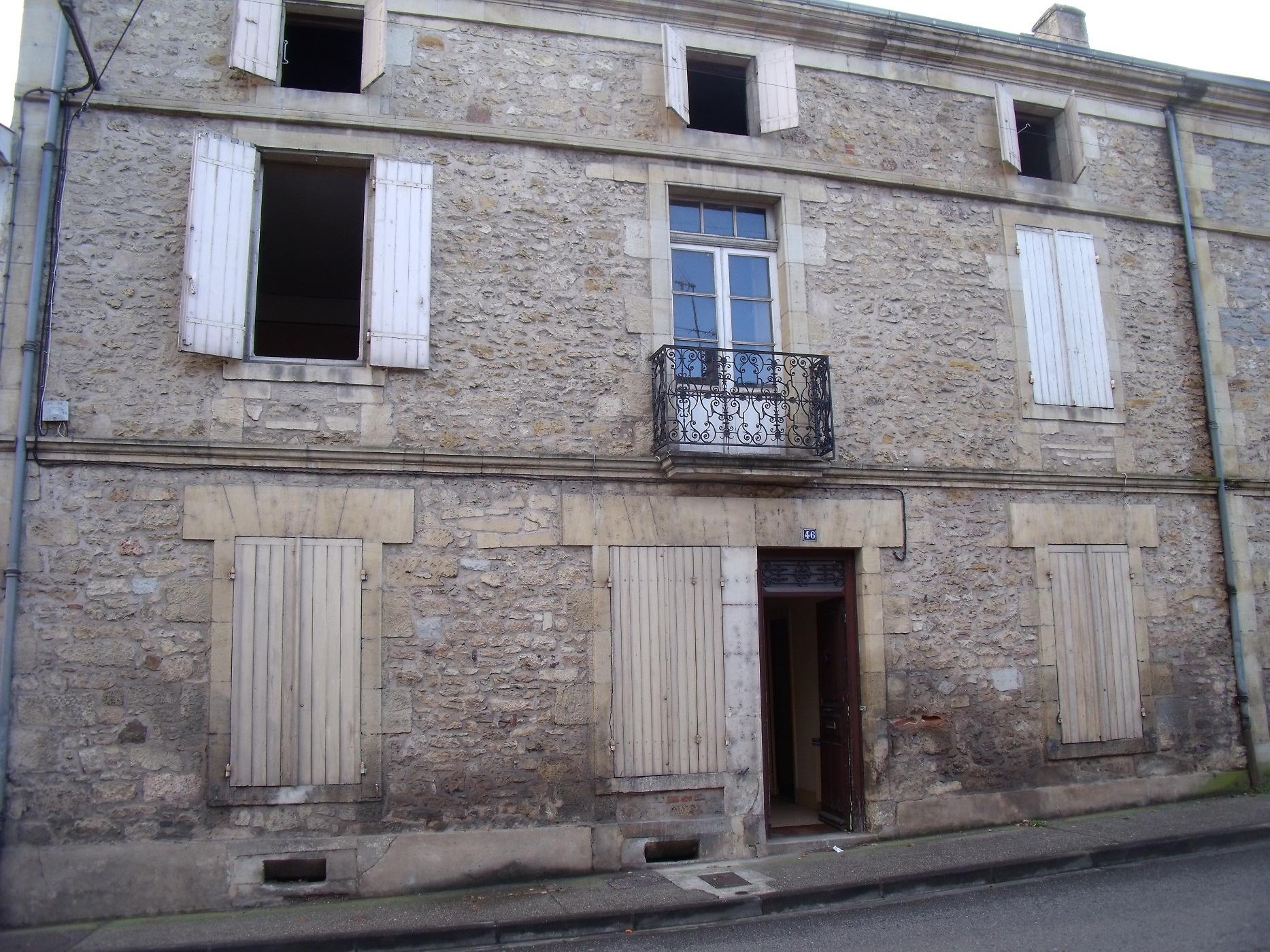 Vente maison/villa 9 pièces monsempron libos 47500